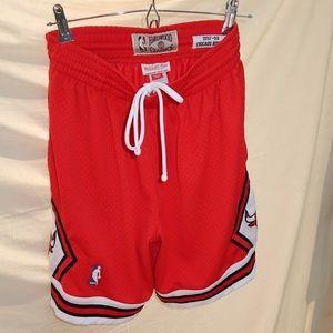 Chicago Bulls hardwood classics basketball shorts